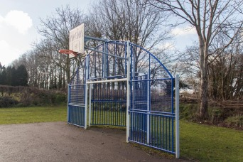 The play area